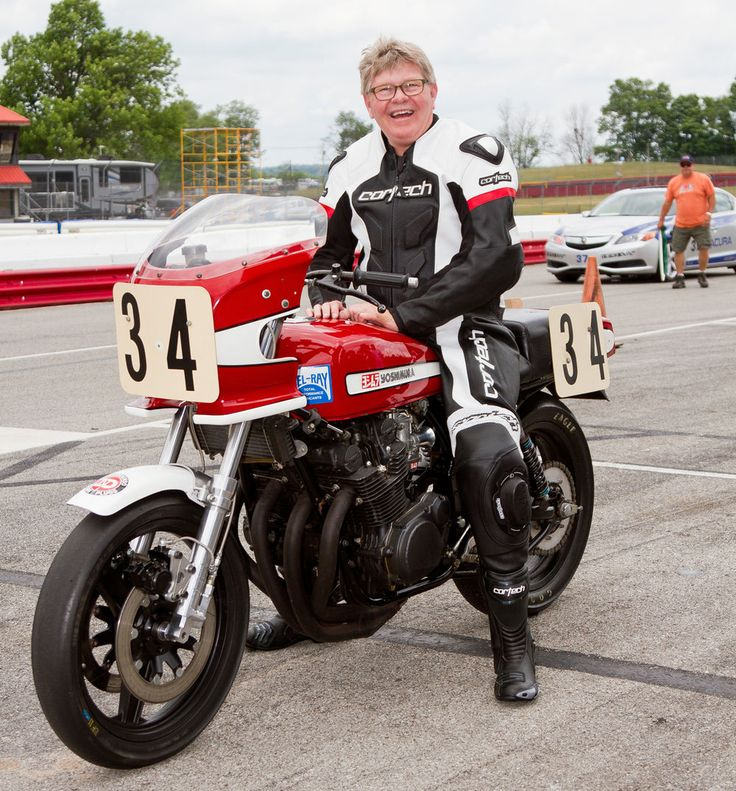 Wes Cooley at Vintage Motorcycle Days 2016