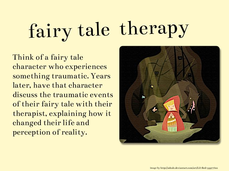 Writing Prompt: Describe a fairy tale character's discussions with his/her therapist years after the event. Description from pinterest.com. I searched for this on bing.com/images