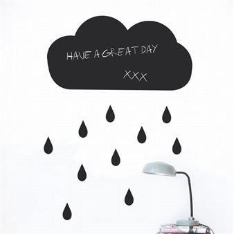 Cloud wall decoration  - black - Ferm Living