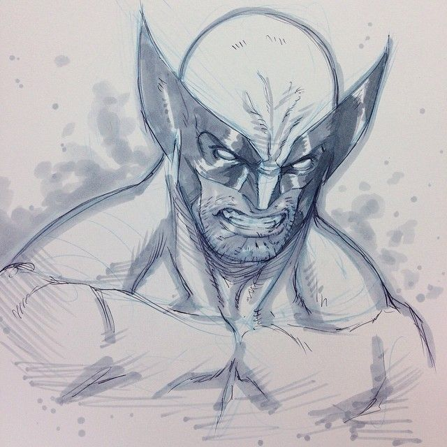 Wolverine by Alvin Lee
