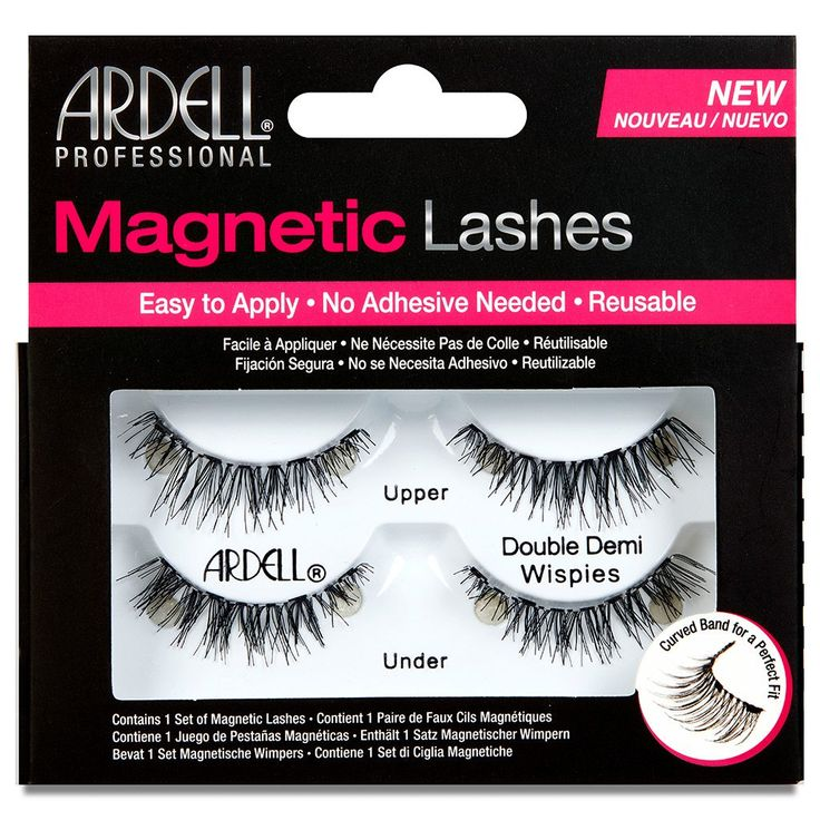 We stock Ardell Magnetic Lashes in style Double Demi Wispies - they're just £14.99 including 1st Class postage! Place your order now.