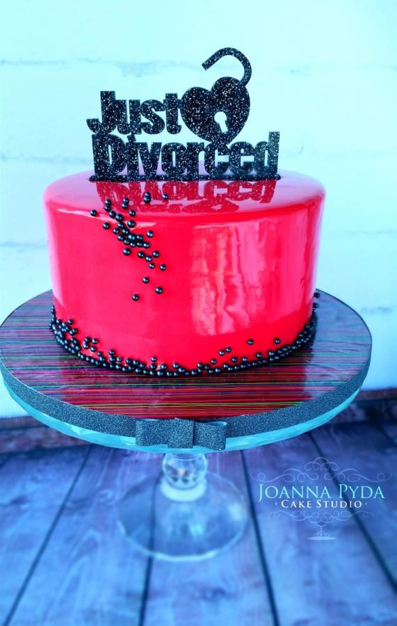 Pink Mirror Glaze Cake - Cake by Joanna Pyda Cake Studio
