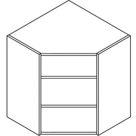 Best Flat Pack Kitchen Wall Angled Corner Unit Carcase Cabinet 400 x 300