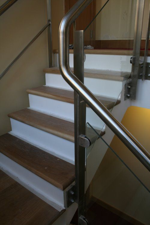 Stainless Steel Stair Railing Banister View More Http://awoodrailing.com