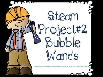 This STEAM project has two different ways to have students create wands for bubbles. It is a great activities for the end of the year and warmer weather. Celebrate by getting outside with those bubbles and wands your students created in a STEAM group!*Click on the green star next to my name to follow me and receive email notifications of upcoming sales, freebies and uploaded products hot off the presses!***&&&&&&&&&&&&***Inventory List*******&am...