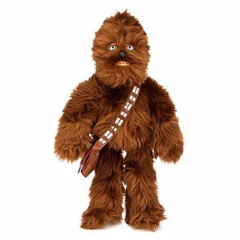 pelúcia star wars: chewbacca - disney store