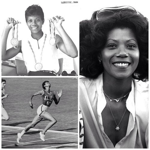 Wilma Rudolph   Considered the fastest woman in the world in the 1960s, winning 3 olympic gold medals in 1960. She overcame infantile paralysis as a result of polio and went on to conquer the track and field world.  she was a graduate of Tennessee State University