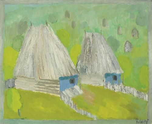 Landscape from Ardeal - Constantin Piliuta