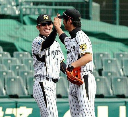 Nishi & Tori / Tsuyoshi Nishioka / Takashi Toritani / Hanshin Tigers