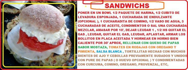 sandwichs ricos