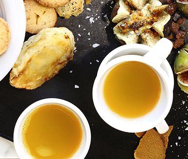 Recept: Pepprig apelsin- och kardemummaglögg