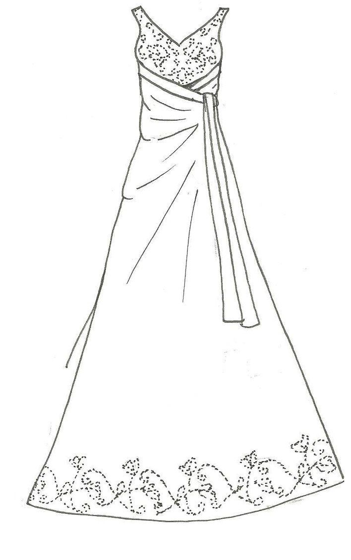 Barbie Wedding Dress Patterns Free Printable With Images Free