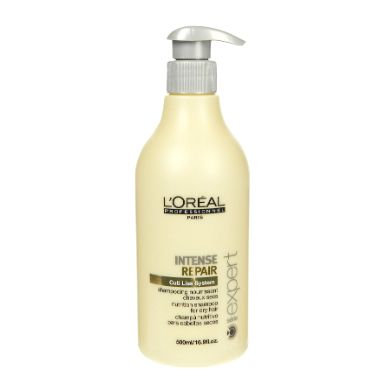 @loreal_es  L' OREAL INTENSE REPAIR 500ml -  #Champú #LOreal nutritivo para #cabelloseco y maltratado. Champú de #platano y #melon con proteínas, aminoácidos y ceramidas.  http://www.lapeluencasa.com/productos-loreal/productos-cabello/intense-repair