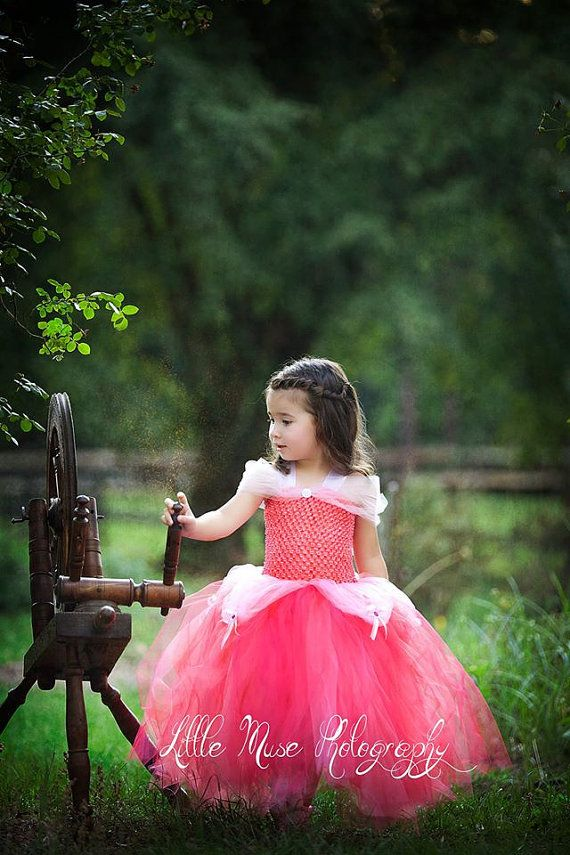 Princess Aurora Sleeping beauty tutu dress by jenniferramirez4
