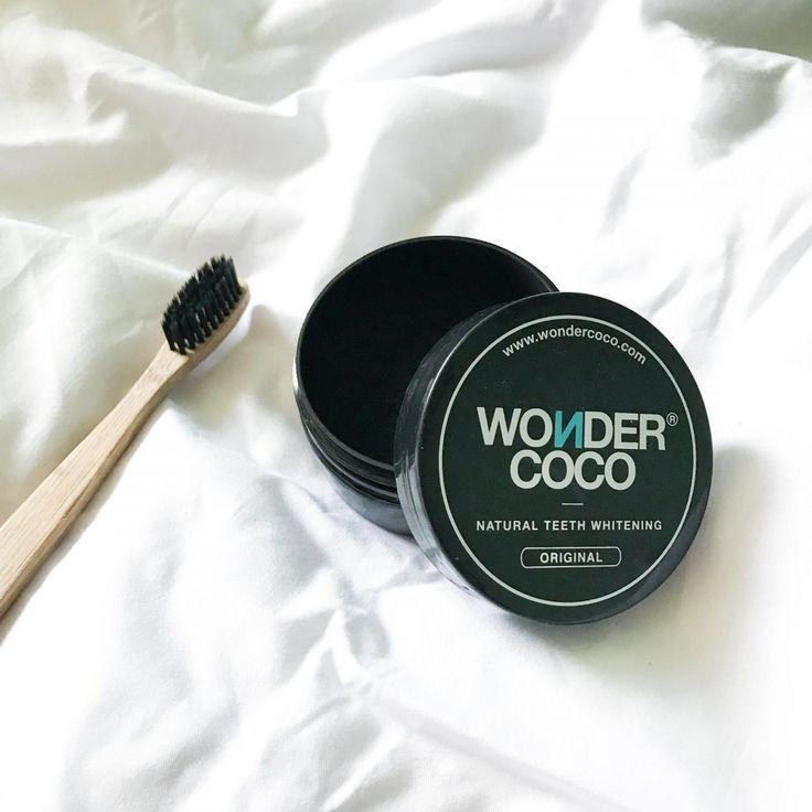 Je vous présente un produit 100% naturel, végan, non testé sur les animaux et non corrosif pour vos dents ! Il s'agit de Wondercoco :)