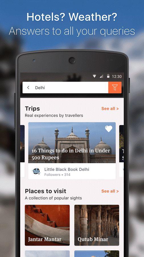Tripoto app