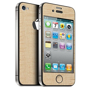 <カーリーメイプル for iPhone 4/4S>前面と背面をデコレーションすることができます。 #iphone #tech #case #skin #accessory #fashion #geek #sexy #apple #technology #products #design #wood