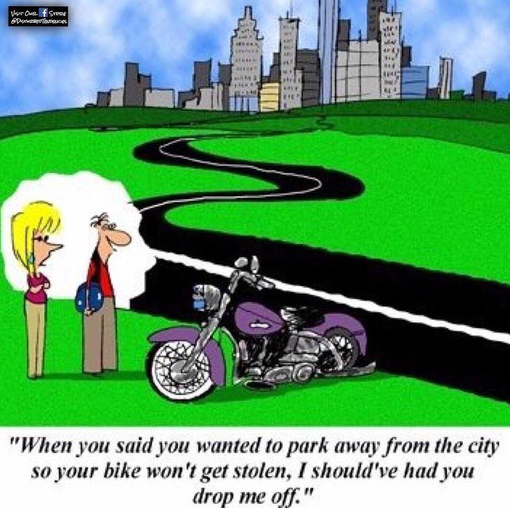 """#bettersafethansorry  --------- """"Te hubiera dicho que me dejaras cuando dijiste que querias estacionarte lejos de la ciudad para que no se robaran tu moto."""" #masvaleprevenirquelamentar  #disturbedhumor #disturbedtendencies #happysaturday #porsiacaso #saturday #saturdayfun #saturdayfunnies #sabadito #sabaditoalegre #lifeinthecity #citylife #ciudad #dropped #parking #safetyfirst #mybike #bikelife #bike #bikes #bikerlife #bikersofinstagram #bikesofinstagram #motorcycle #motorcycles…"""