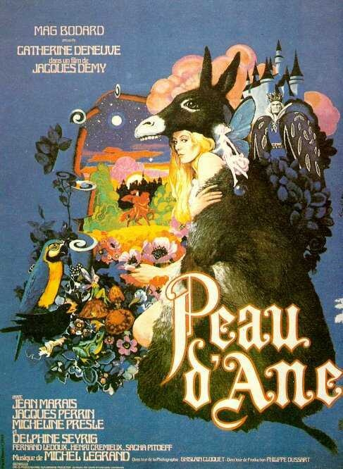 Peau d'Ane old #French #Movie with Jean marais and Catherine Deneuve