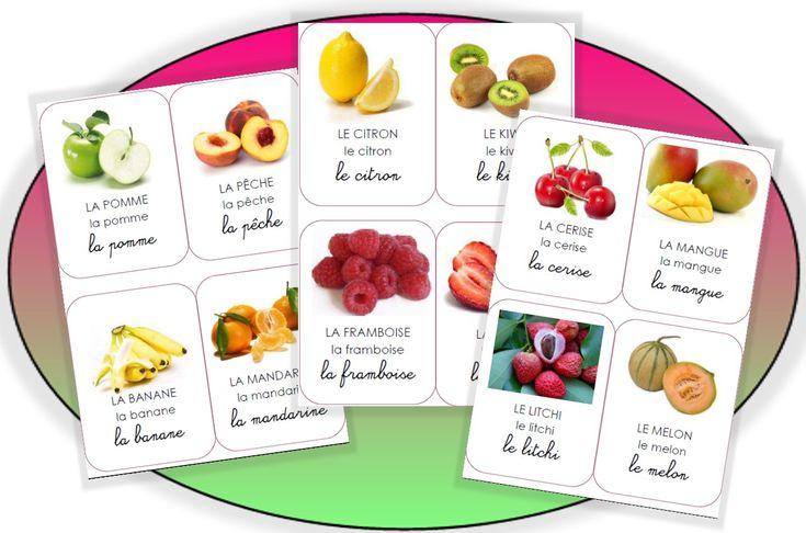 Les imagiers - (page 2) - Pépinette à l'ecole fruits