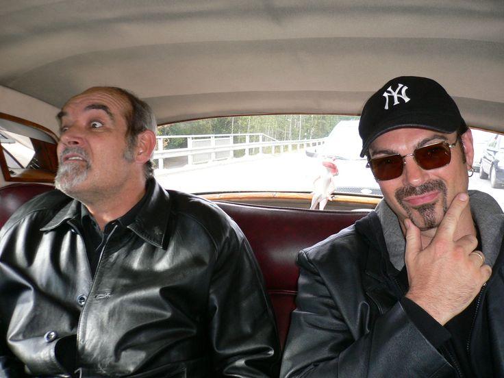 Sean Connery ja George Michael look-a-like artistit Helsingissä menossa Rolls-Royce kuljetuksella kentältä valmistautumaan illan Studio 51:sen tilaisuuteen. Meillä on yli 300 brittiläistä ja amerikkalaista look-a-like esiintyjää välityksessä.