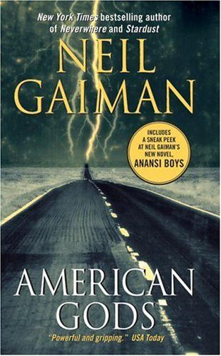 American Gods is a great read that challenges the reader.  A dark and surreal juxtaposition of myth and modern society and technology.