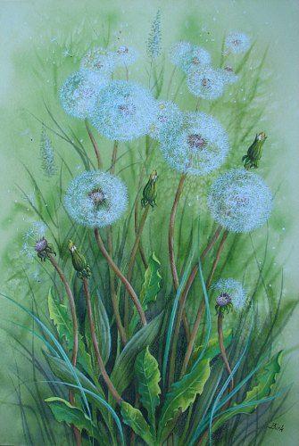 """Kerstin Birk, """"Dandelions"""" , 2011"""