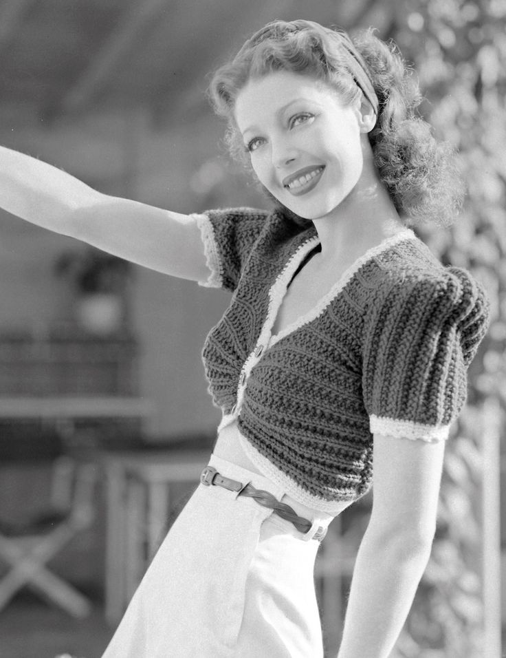"summers-in-hollywood: "" Loretta Young, 1940 """