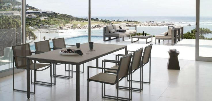 Outdoor Patio Ideas Modern outdoor dining set