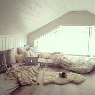 #comfy room .. a room you would never leave in winterdays if you have a good book and a cup of tea :)