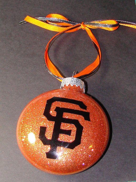 San Francisco Sports teams Ornaments by PleasantPeasant on Etsy, $8.00