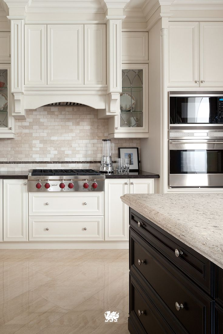 2 tone kitchen cabinets give a traditional kitchen a modern breath with soothing 3822