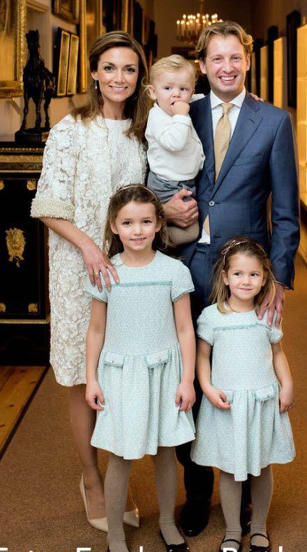 officiële gezinsfoto