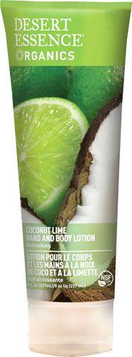 Desert Essence Desert Essence Organics Hand & Body Lotion Coconut Lime