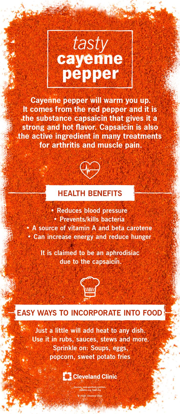 Add Some Kick with Cayenne (Infographic)