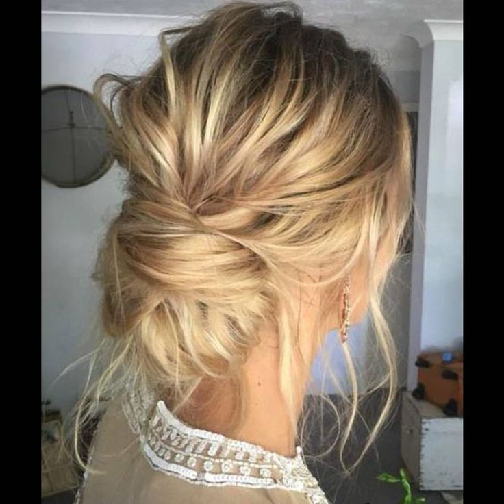Best 25 Chignon Bas Ideas On Pinterest Coiffure Chignon Chignons And Coiffure Facile