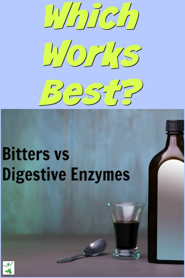 Traditional Bitters versus Digestive Enzymes | Natural