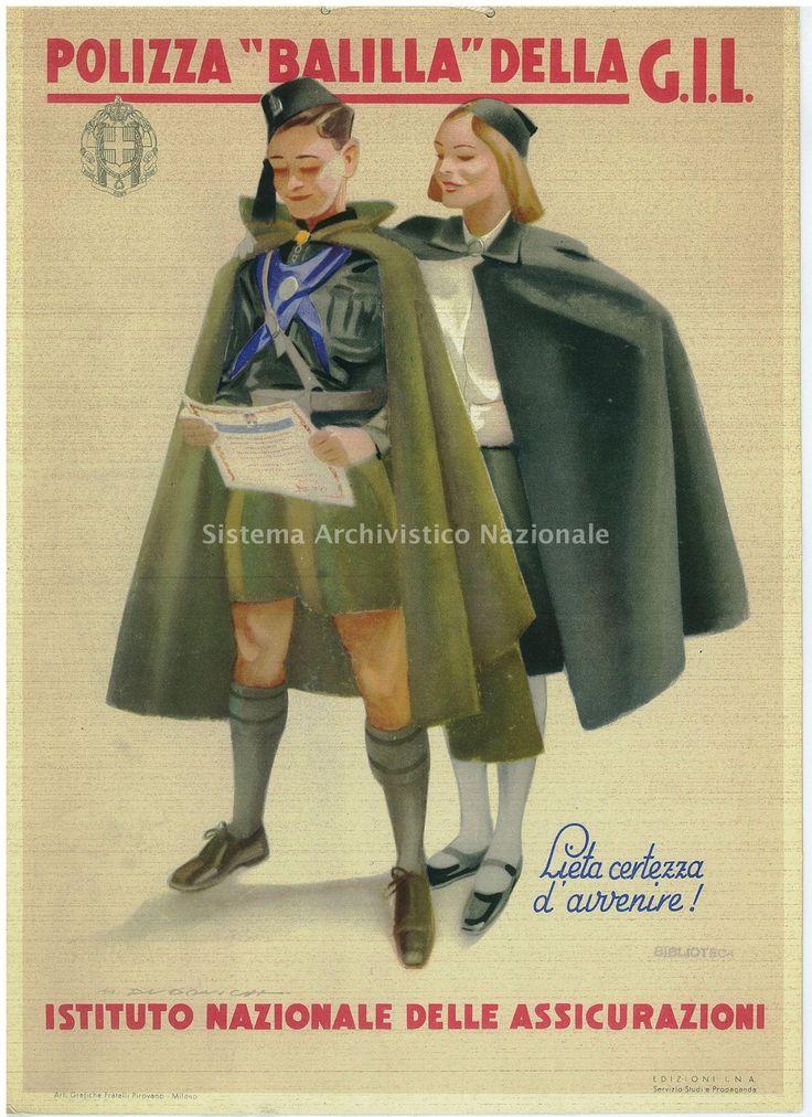 "Italian WW2 ""The bill of 'Balilla'."""