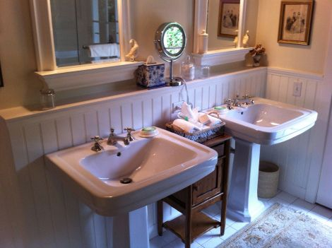Bathroom at San Ysidro Ranch