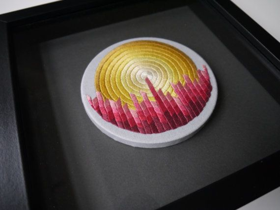 Contemorary embroidery