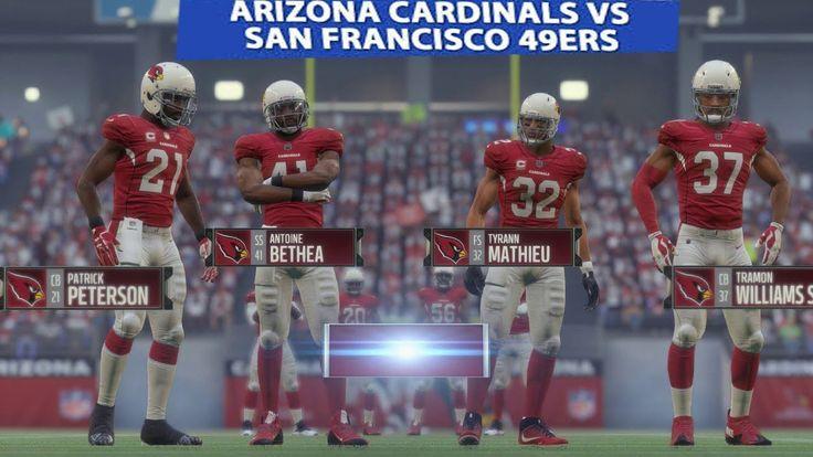 Cardinals vs 49ers NFL regular season Game Preview Week 9