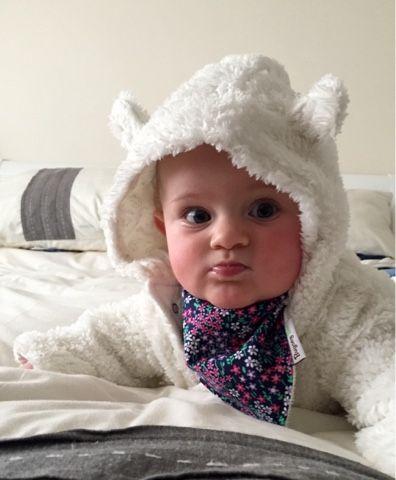 Dribble bib - perfect for teething babies!