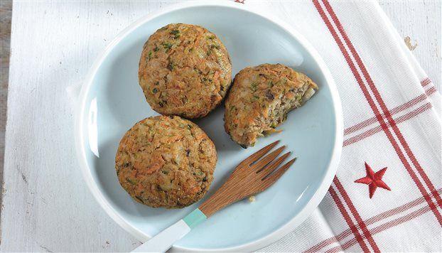 Νηστίσιμα+μπιφτέκια+λαχανικών