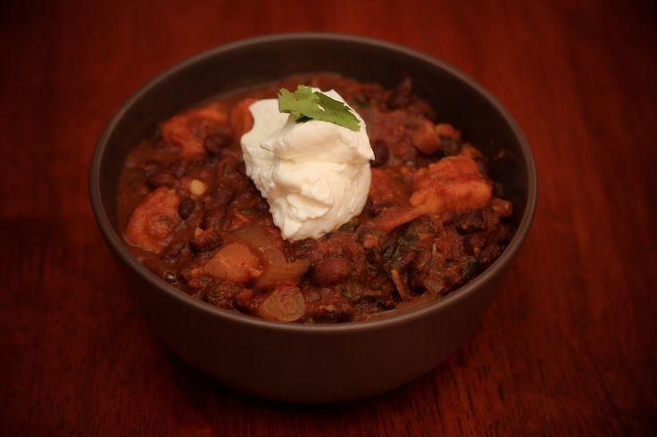 ... Sweet, Crockpot, Black Bean Chili, Sweet Potatoes, Sweet Potato Chili