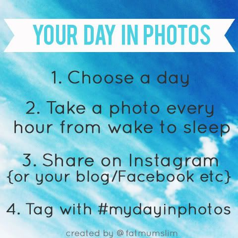 Quick challenge: Your day in photos
