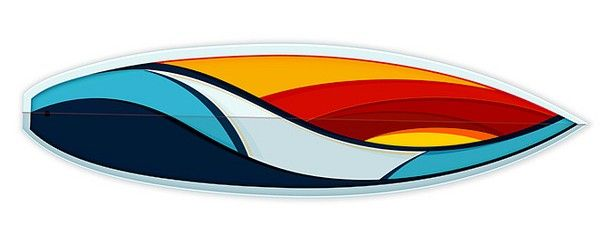 Serie Waves Surfboards by Tom Veiga » Design You Trust. Occupy Design.