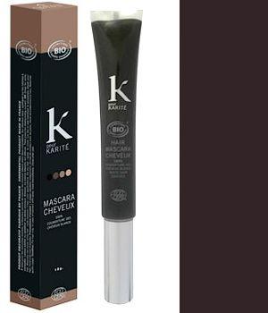 K Pour Karité Mascara cheveux Couverture des cheveux blancs n°3 Châtain Foncé 15g