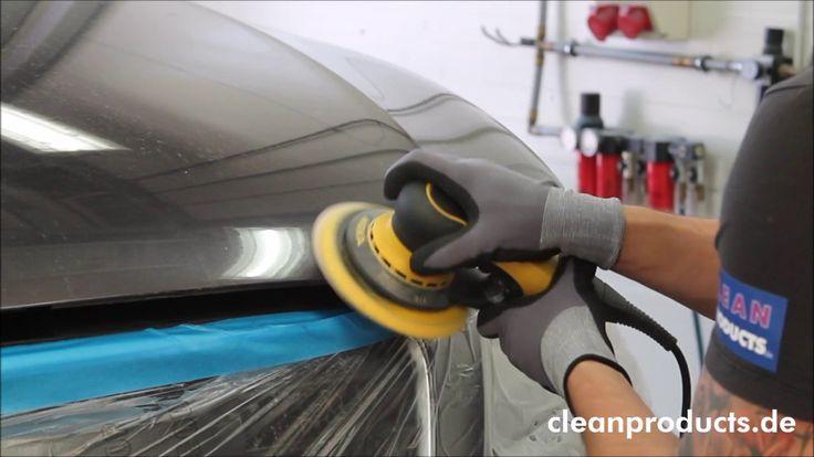 CLEANPRODUCTS Anwendungs Video Schleifmittel Karosserie