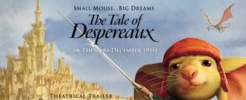 Image result for the tale of despereaux