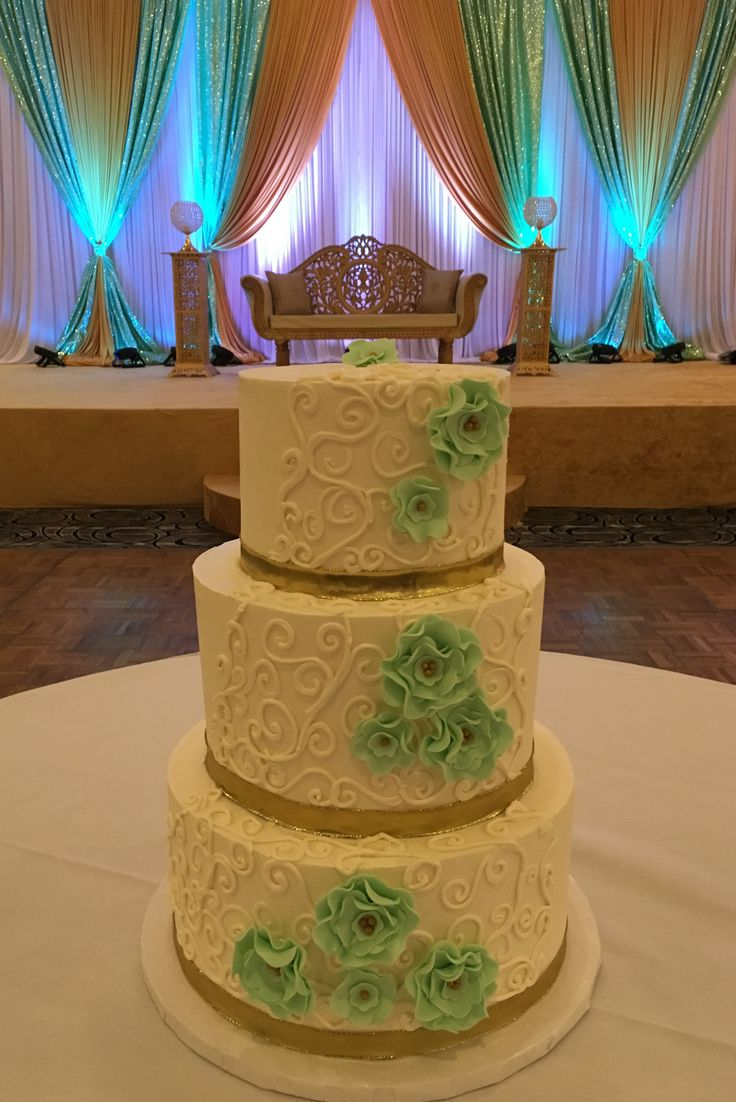 mint green and gold wedding cake 54 best wedding cakes images on 17443
